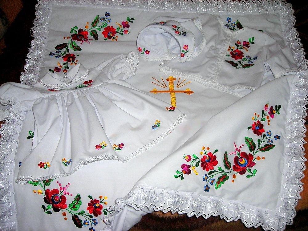 01e786fe62 Keresztelő ruha, takaró, főkötő, kabátka   Maghun Világörökség és ...
