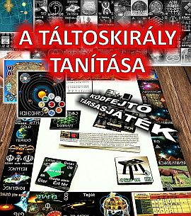 A TÁLTOSKIRÁLY TANÍTÁSA KÓDFEJTŐ TÁRSASJÁTÉK!