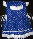 Kékfestő lányka ruha