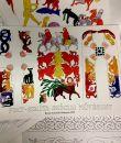 Pikt-szkíta-skóciai művészet kifestő